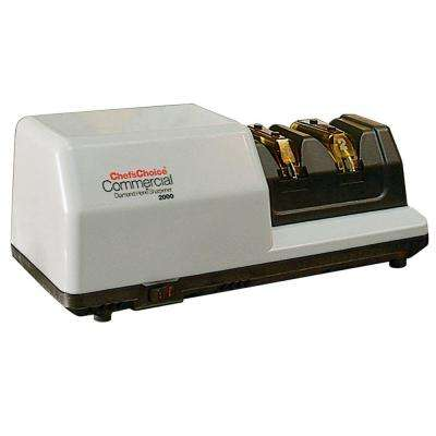 2-Stage Commercial Knife Sharpener