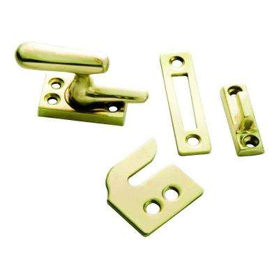 Polished Brass Casement Window Fastener