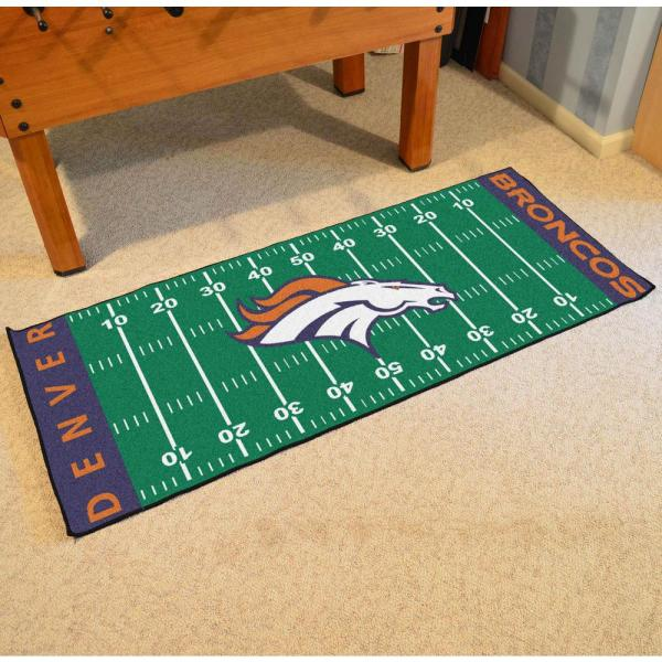 Fanmats Denver Broncos 3 Ft X 6
