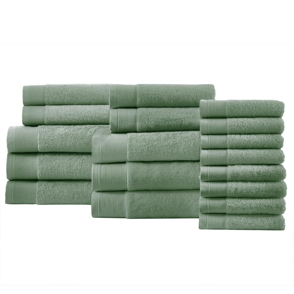 StyleWell Performance Quick Dry 18-Piece Towel Set in Willow Green was $106.82 now $64.09 (40.0% off)