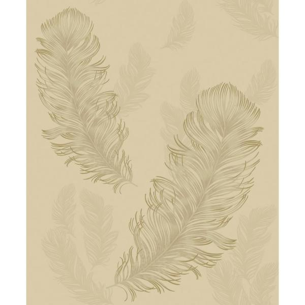 Precious Metals Sirius Gold Non-Pasted Wallpaper, Covers 57.26 sq. ft.