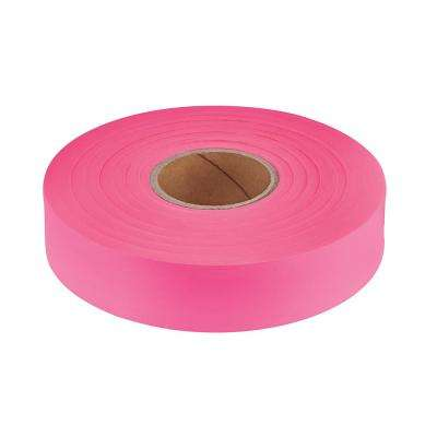1 in. x 600 ft. Pink Flagging Tape