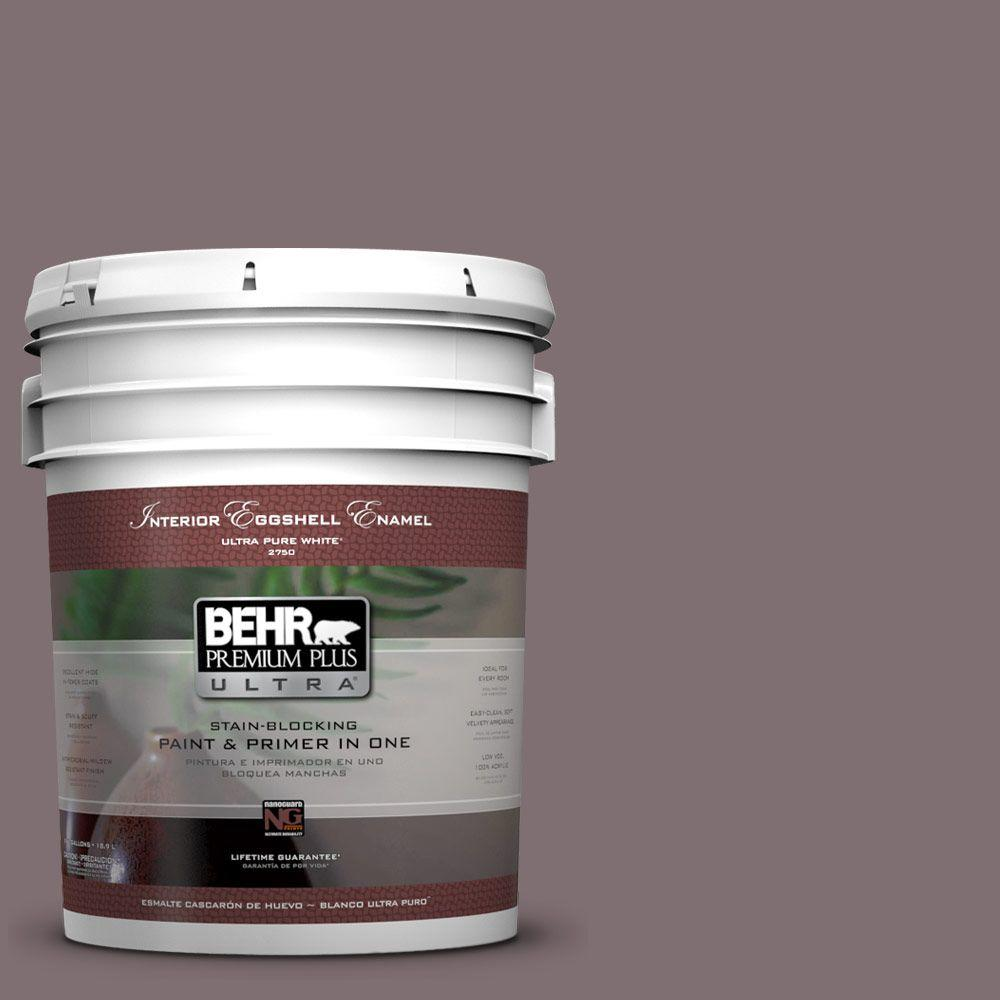 BEHR Premium Plus Ultra 5-gal. #N110-5 Royal Raisin Eggshell Enamel Interior Paint