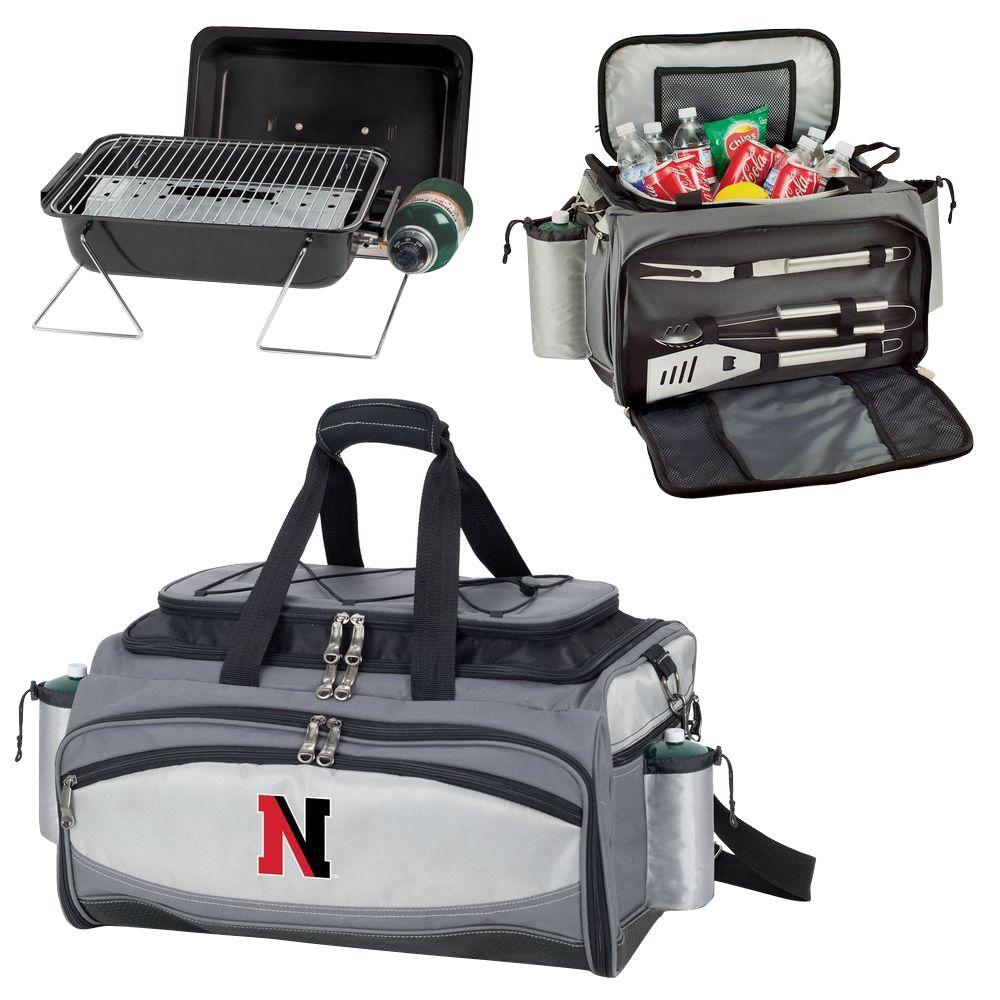 Northeastern Huskies - Vulcan Portable Propane Grill and Cooler Tote with