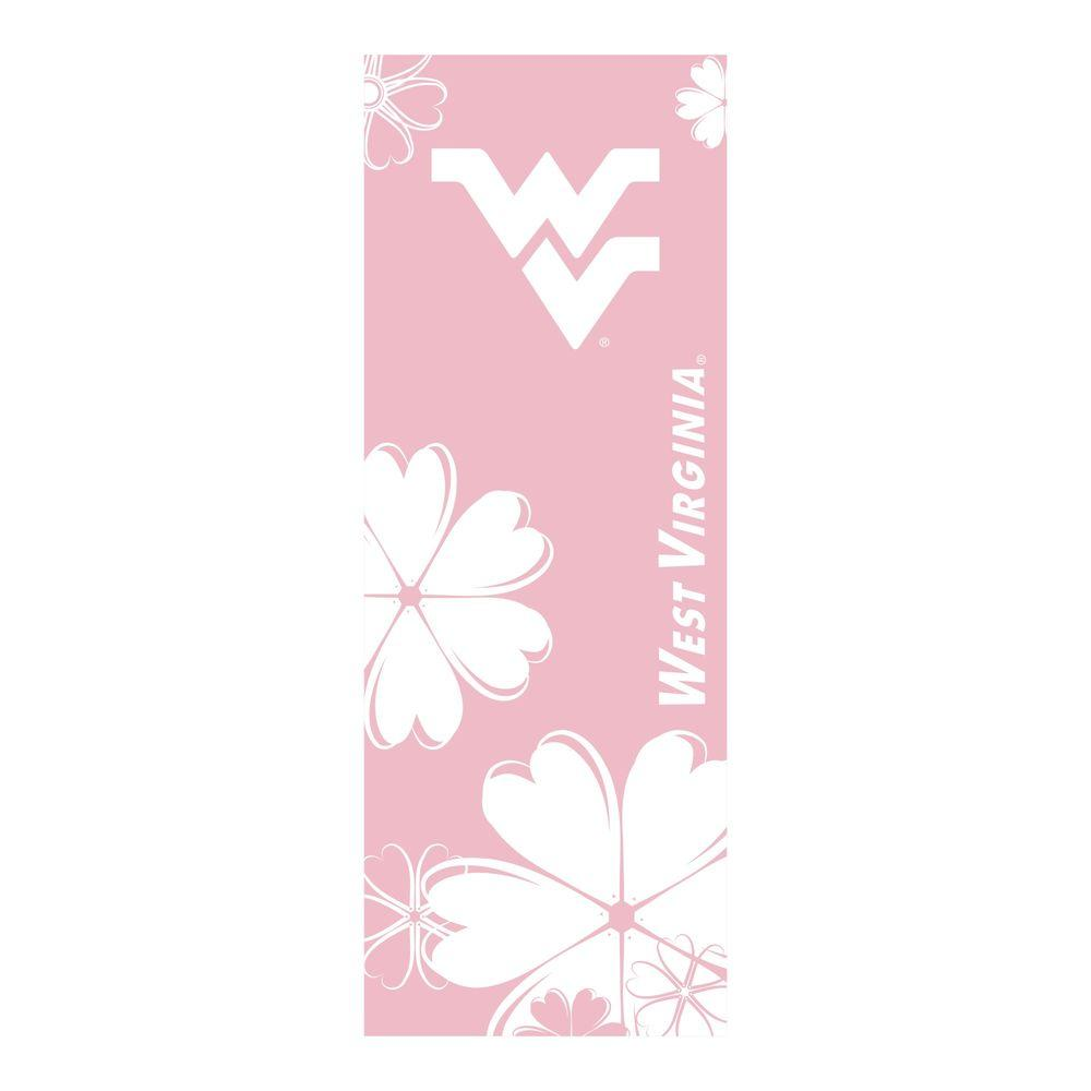 FANMATS West Virginia University 24 in. x 67.5 in. Yoga Mat-DISCONTINUED