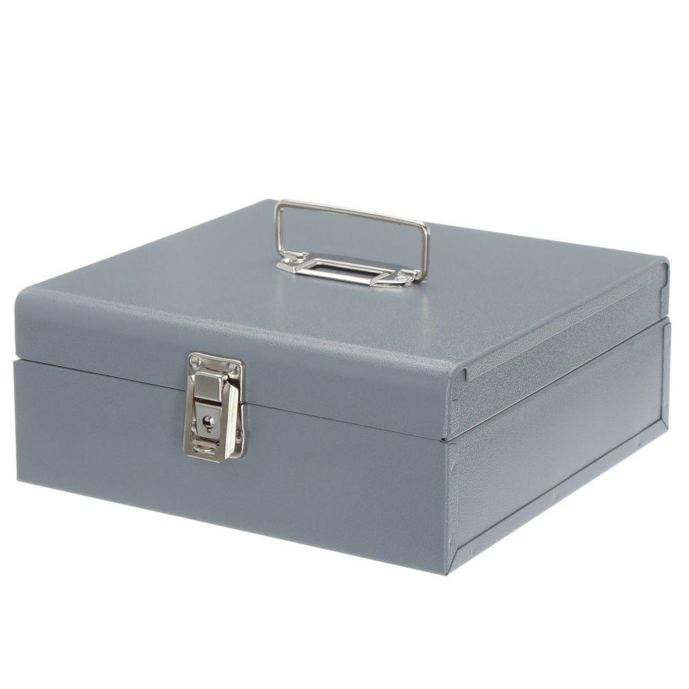 3/4 cu. ft. Jumbo Cash Box, Gray