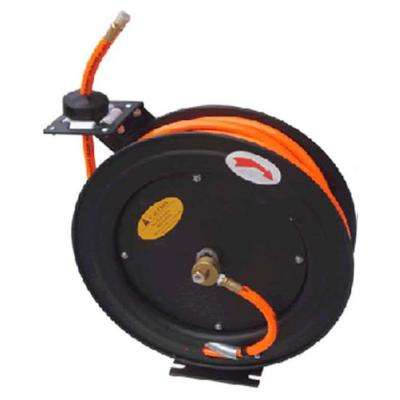 3/8 ft. x 50 ft. Automatic Air Hose Reel with PVC Braided Air Hose