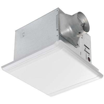 110 CFM Ceiling Mount Quick Connect Modern Bathroom Exhaust Fan