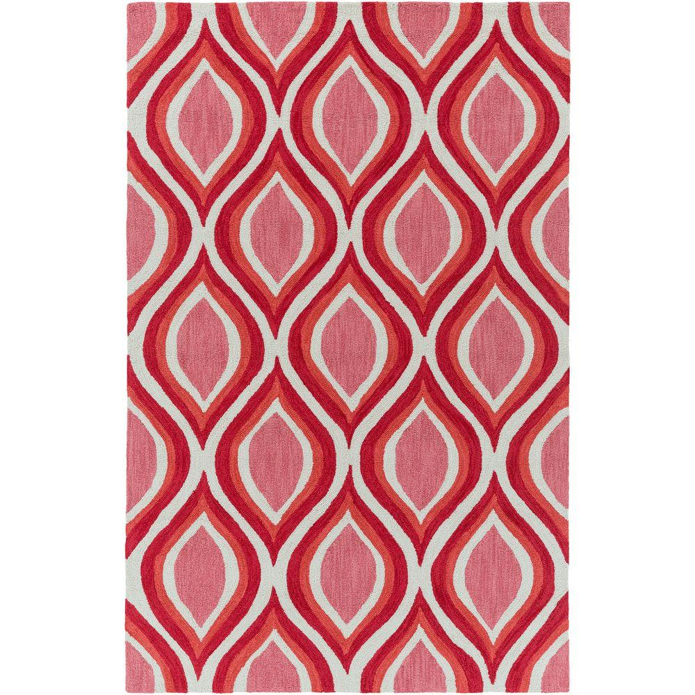 Holden Lucy Coral 8 ft. x 10 ft. Indoor Area Rug