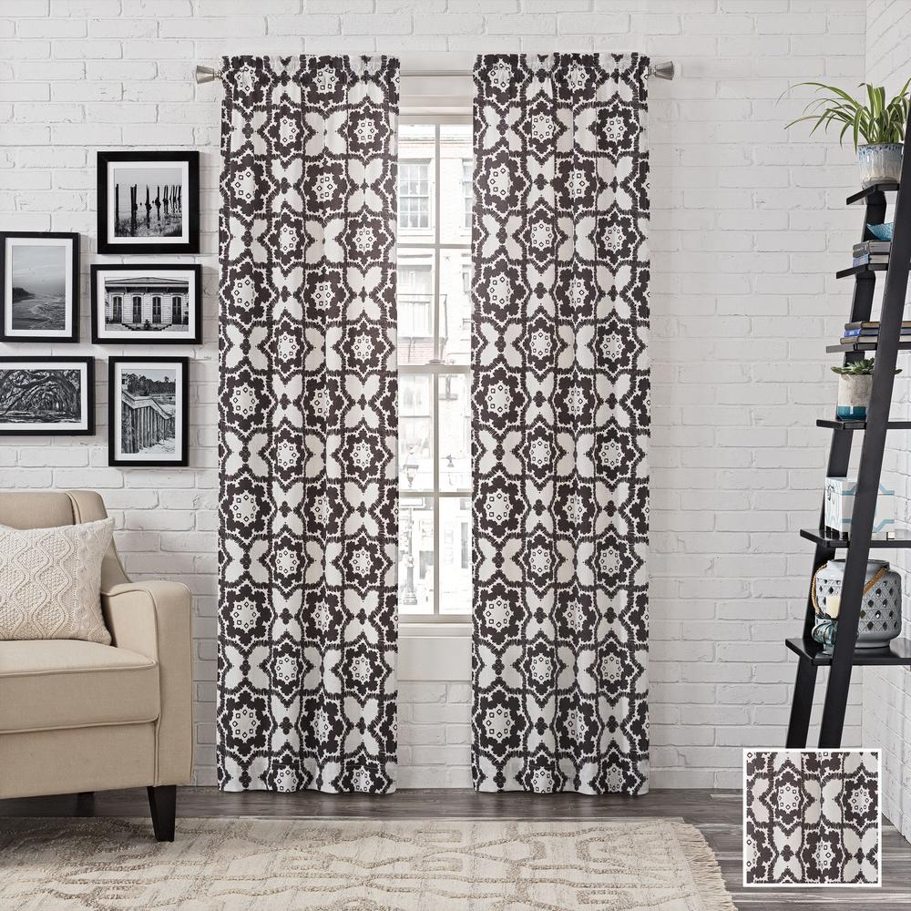 udall black singles Find great prices on pairs to go udall window curtain panel pair (56x95 - black) and other curtains & drapes deals on shop better homes & gardens.