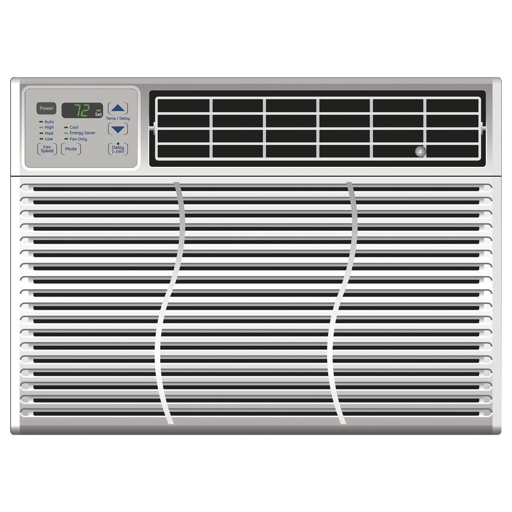 GE 12,000 BTU 115-Volt Electronic Window Air Conditioner with Remote