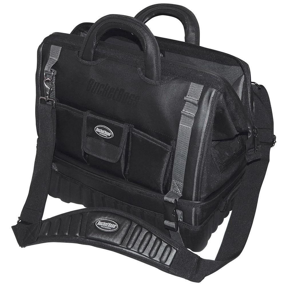 Bucket Boss Pro Drop Bottom All Terrain Bottom 18 inch Tool Bag by Bucket Boss