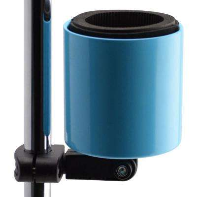 Kroozercups Deluxe Baby Blue Drink Holder Fits Bars from 5/8 in. to 1-3/8 in. at any Angle with New Super-Tight Grip