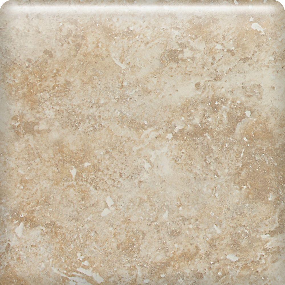 Heathland Raffia 6 in. x 6 in. Glazed Ceramic Bullnose Wall