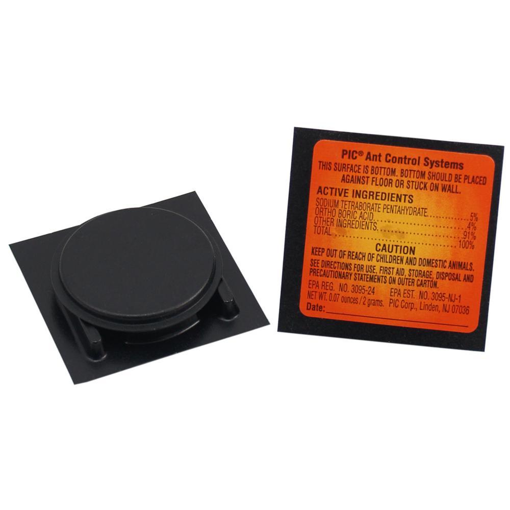 PIC Ant Plastic Bonus Traps (Total Traps: 144) (12-Pack per Case) by PIC