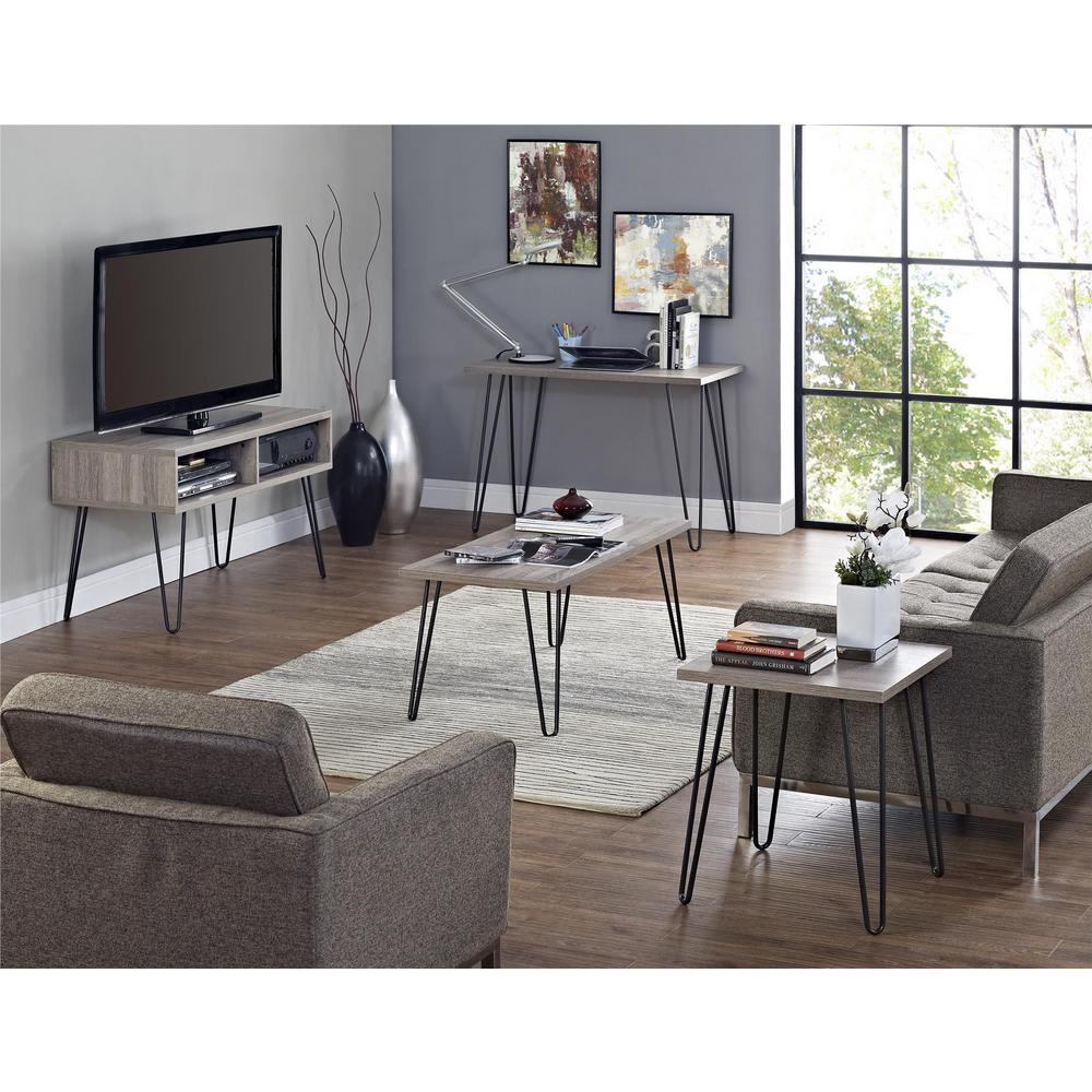 Ameriwood Montrose Weathered Oak Retro 42 In Tv Stand Hd83098 The Clic Gallery
