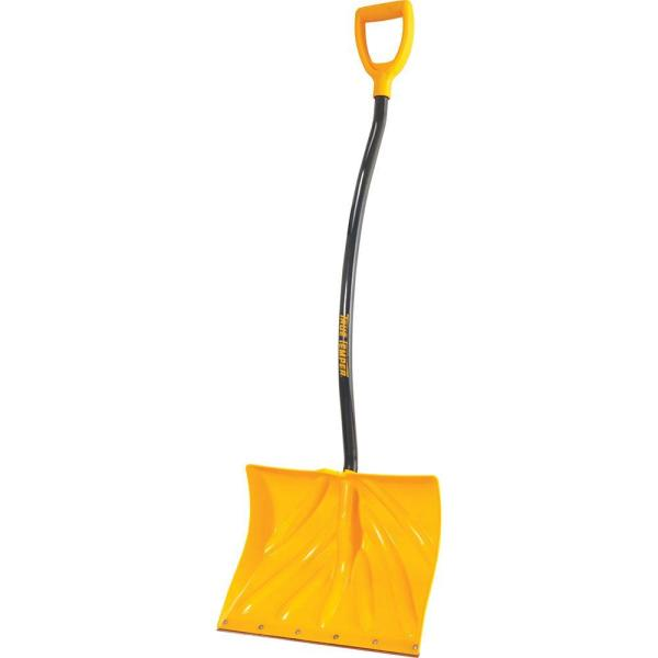 18 in. Ergonomic Mountain Mover Snow Shovel