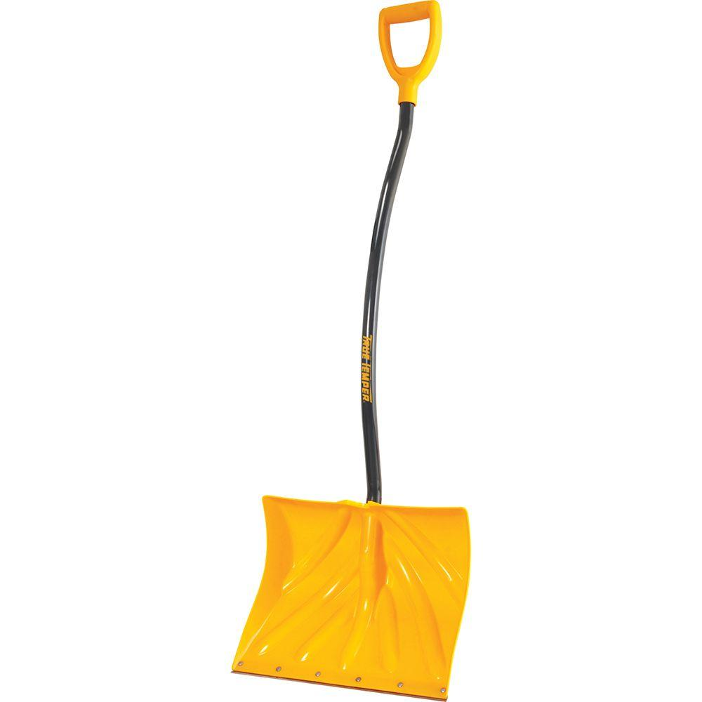 TrueTemper True Temper 18 in. Ergonomic Mountain Mover Snow Shovel