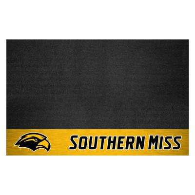 NCAA 26 in. x 42 in. University of Southern Mississippi Grill Mat