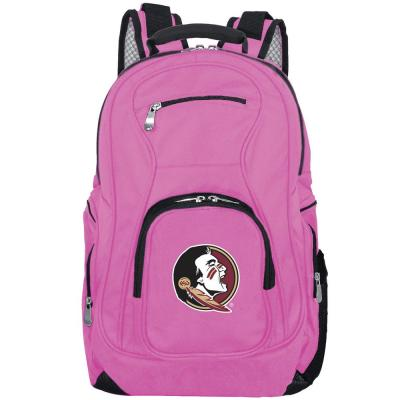 NCAA Florida State Seminoles 19 in. Pink Laptop Backpack