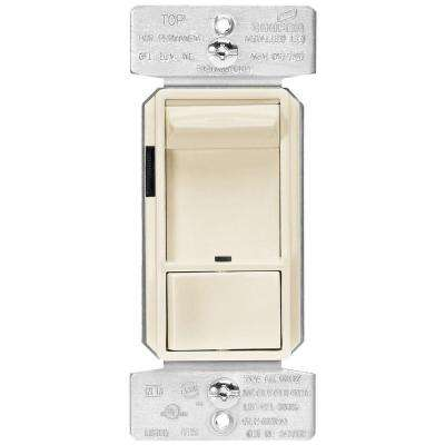 AL Series 300-Watt Dimmable LED/CFL All-Load Slide Dimmer, Light Almond