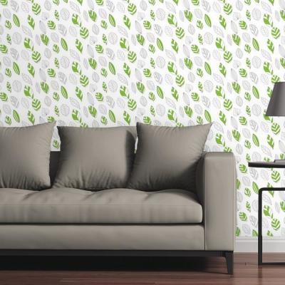 Foraged Leaves by Raygun Removable Wallpaper Panel