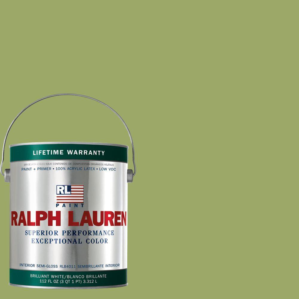 Ralph Lauren 1-gal. English Apple Green Semi-Gloss Interior Paint