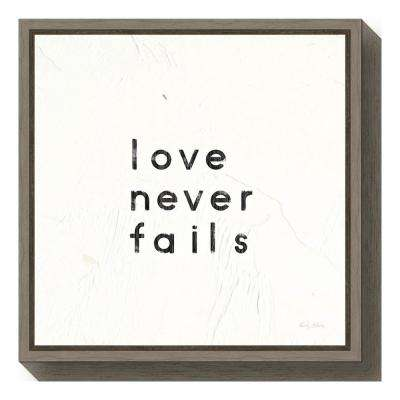 Floater Frame - Words & Quotes - Canvas Art - Wall Art - The Home Depot