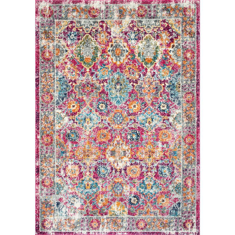 NuLOOM Persian Leilani Pink 8 Ft. X 10 Ft. Area Rug