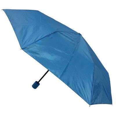 Kingstate 42 in. Arc Canopy Mini Manual Umbrella, Blue