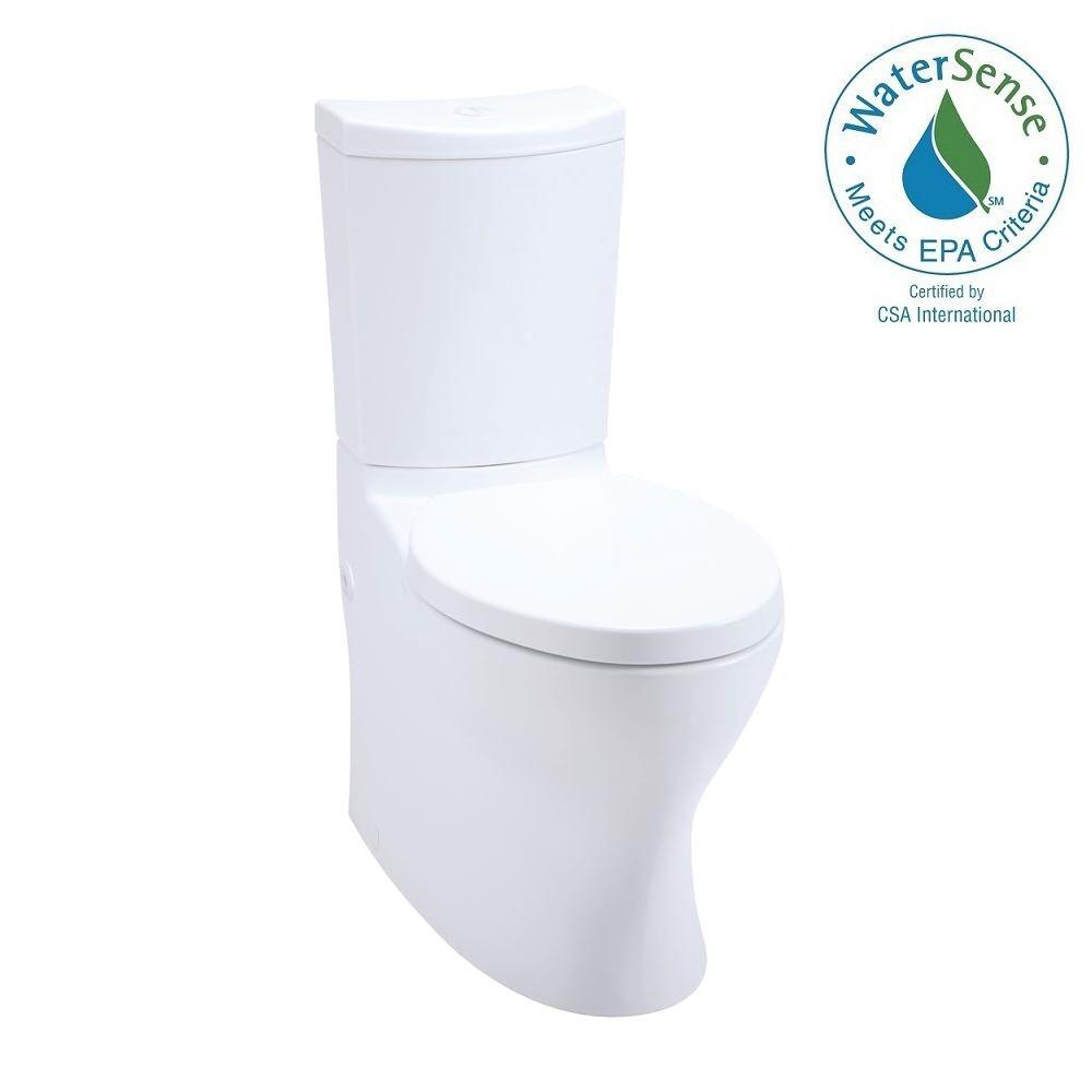 KOHLER Persuade 2-piece 1.0 or 1.6 GPF Dual Flush Elongated Toilet in White