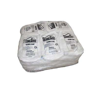 Off-White Real Carvable Blown Stone 66 lb. Bag of Limestone Mix Produces 10 sq. ft. (Pallet of 10 = 100 sq. ft.)
