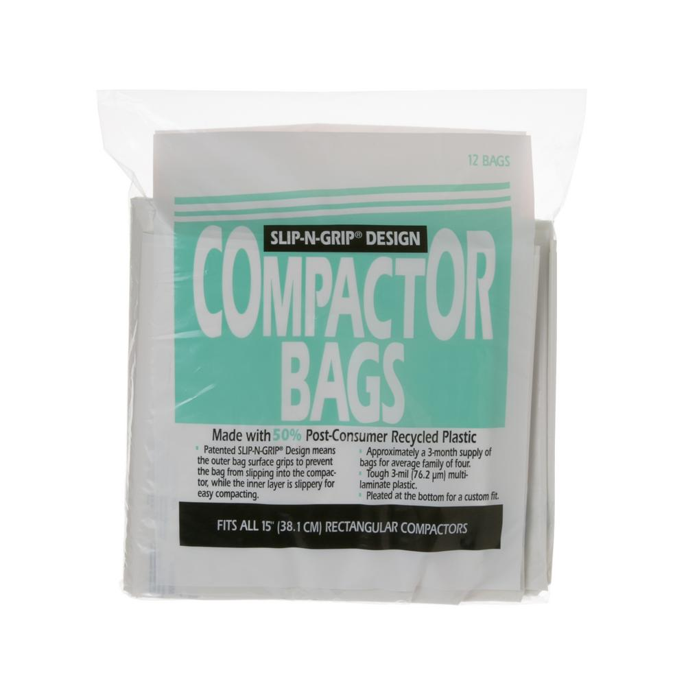 Heavy Duty Square Compactor Bags For Ge Trash Compactors