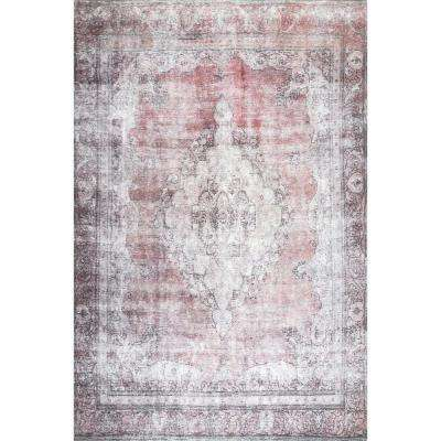 Vintage Hebe Multi 7 ft. 10 in. x 10 ft. 10 in. Area Rug