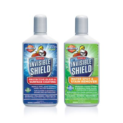 Invisible Shield Tub and Shower Glass Restoration + Protectant by Clean-X