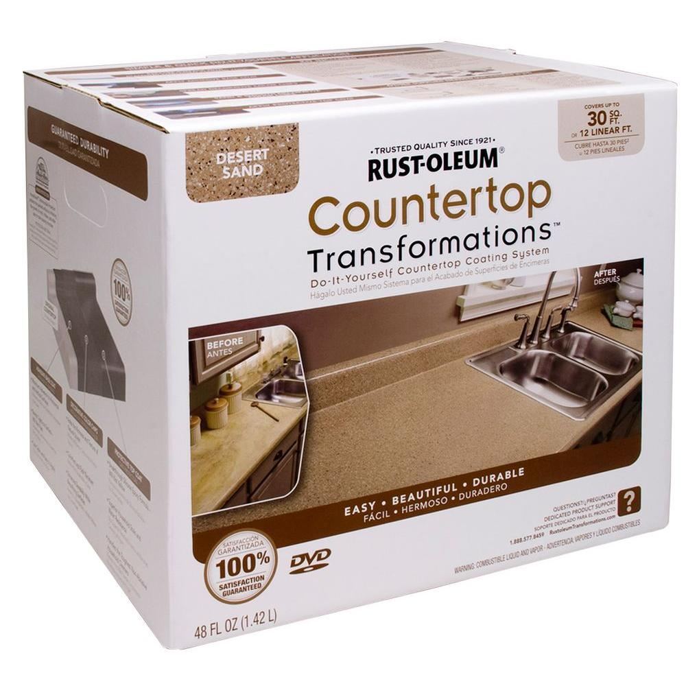 Rust-Oleum Transformations 48 oz. Desert Sand Small Countertop Kit