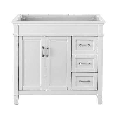 Inch Vanities Dovetail Drawer Construction White Bathroom - 33 inch bathroom vanity