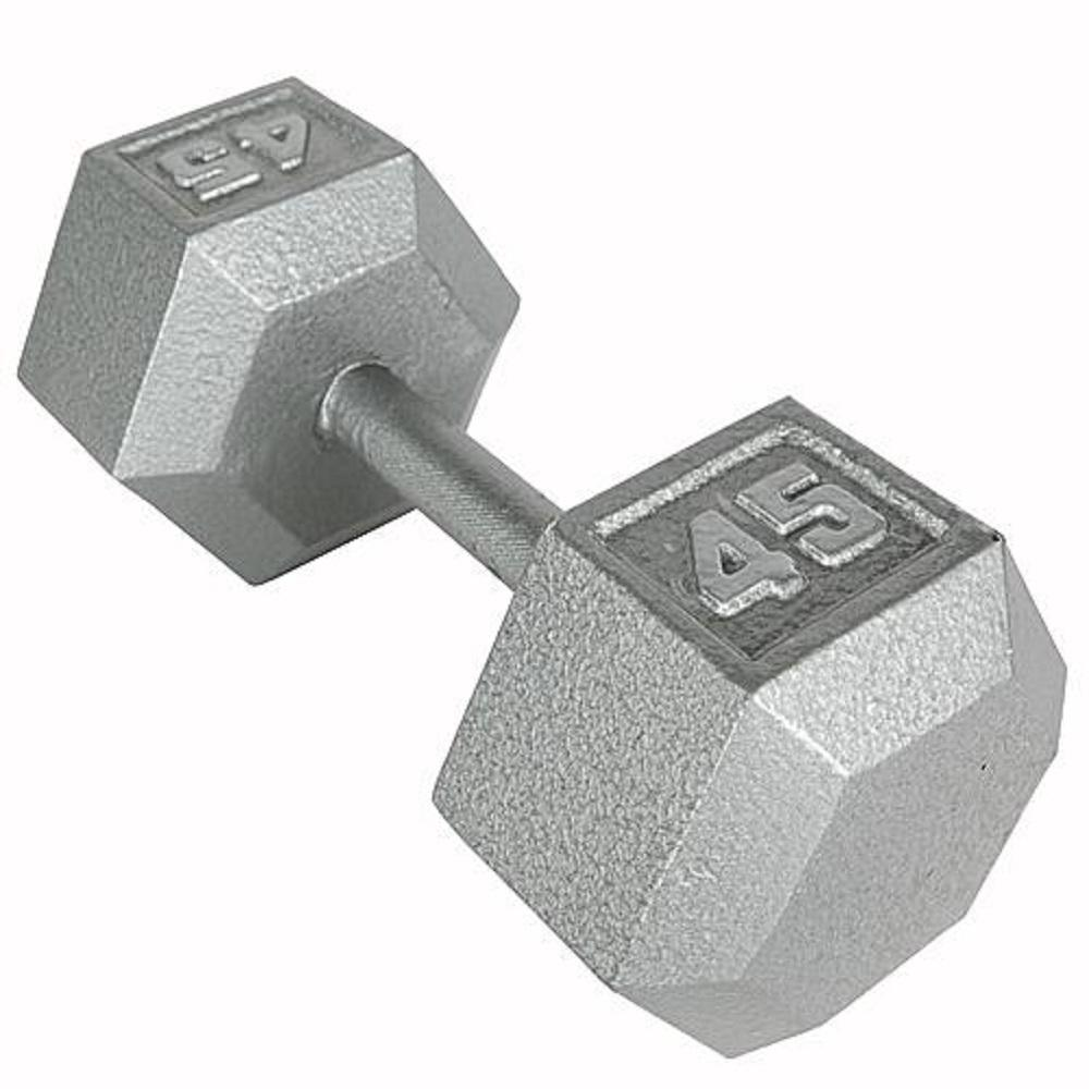 45 lb. Hex Dumbbell