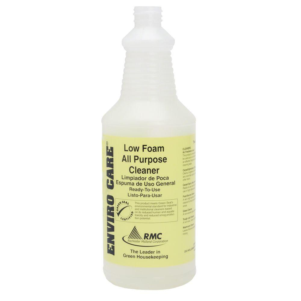 32 oz. Low Foam Cleaner Labeled Bottle