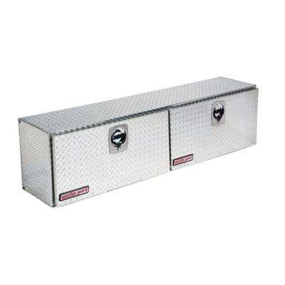 72.25 Diamond Plate Aluminum Full Size Top Mount Truck Tool Box