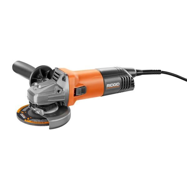 8 Amp Corded 4-1/2 in. Angle Grinder