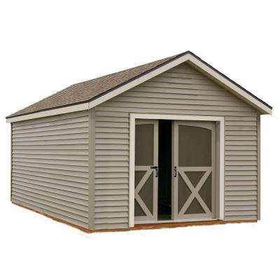 South Dakota 12 ft. x 20 ft. Prepped for Vinyl Storage Shed Kit