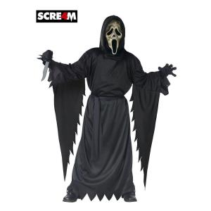Boys Scream Zombie Ghost Face Costume  sc 1 st  Home Depot & Fun World Boys Ghost Face Costume-8874FW_STD - The Home Depot