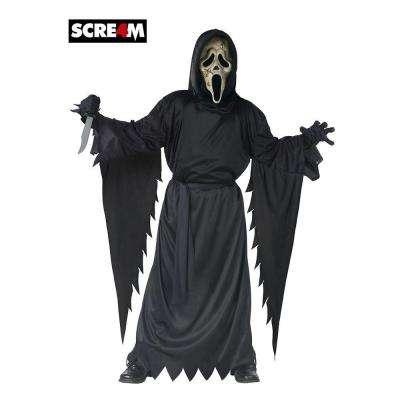 Boys Scream Zombie Ghost Face Costume
