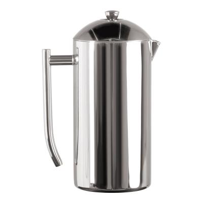 10-Cup Mirror Finish Stainless Steel French Press