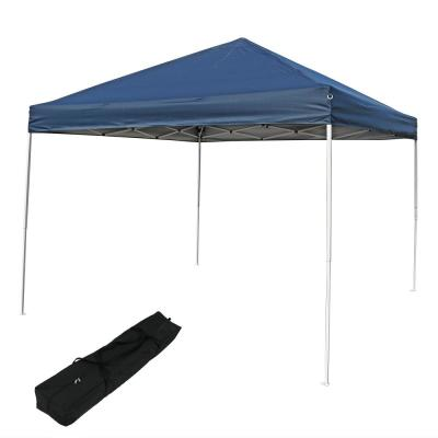 8 ft  x 10 ft  White Straight Leg Canopy-167557DS - The Home Depot