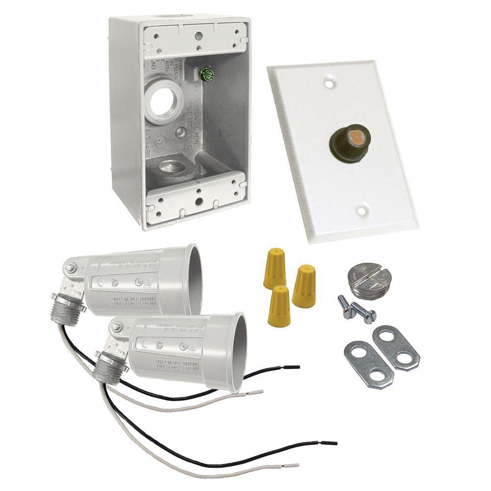 1-Gang Weatherproof Photocell Par Lampholder Kit