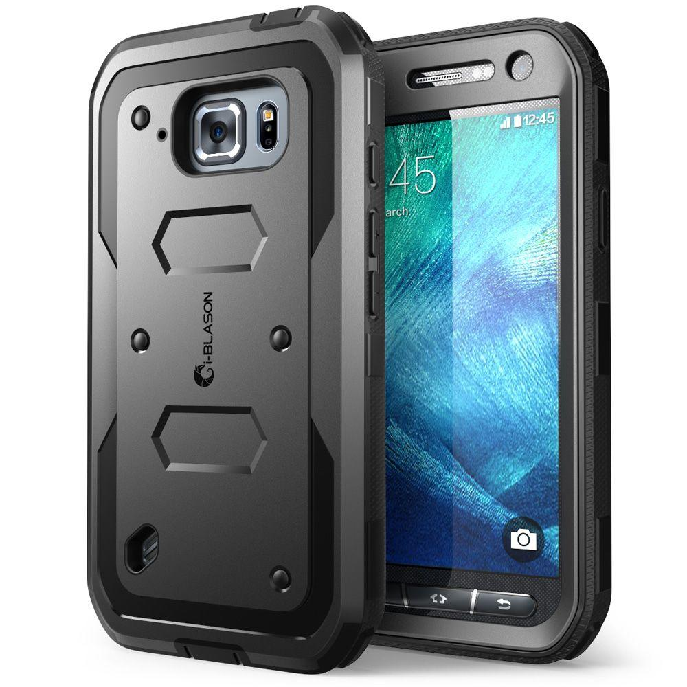 i blason galaxy s6 active armorbox full body case with screen