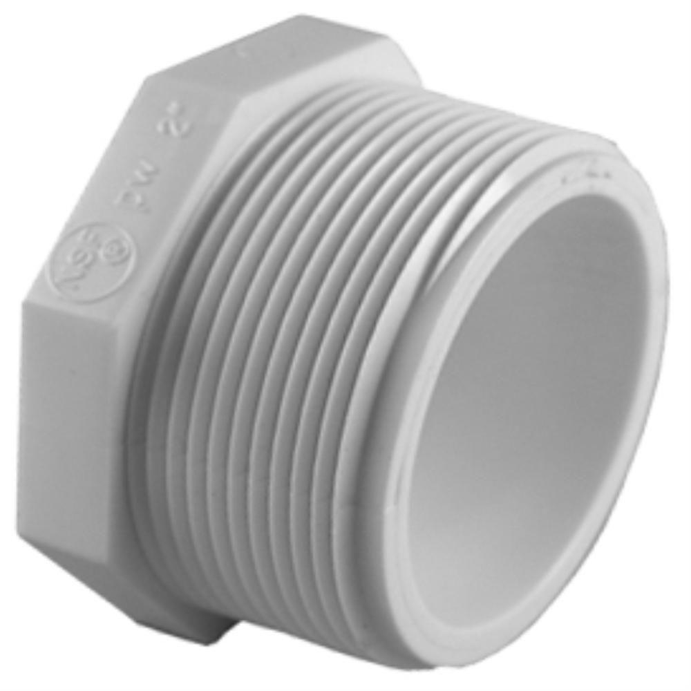 Charlotte Pipe 3 4 In Pvc Sch 40 Plug Pvc 02113 0800hd The Home Depot
