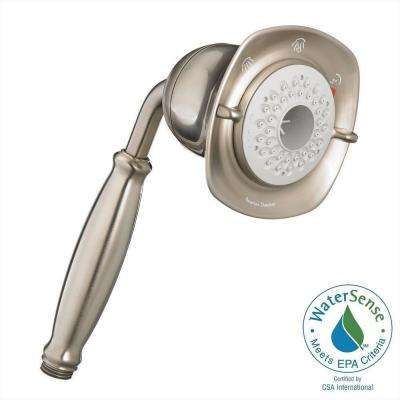 Lovely FloWise Square Water Saving 3 Spray Hand Shower In Brushed Nickel